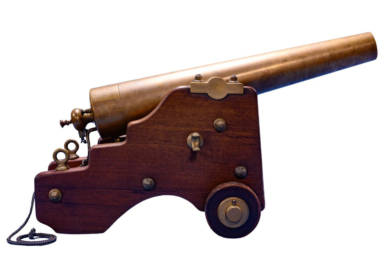 2 gauge big cannon profile white