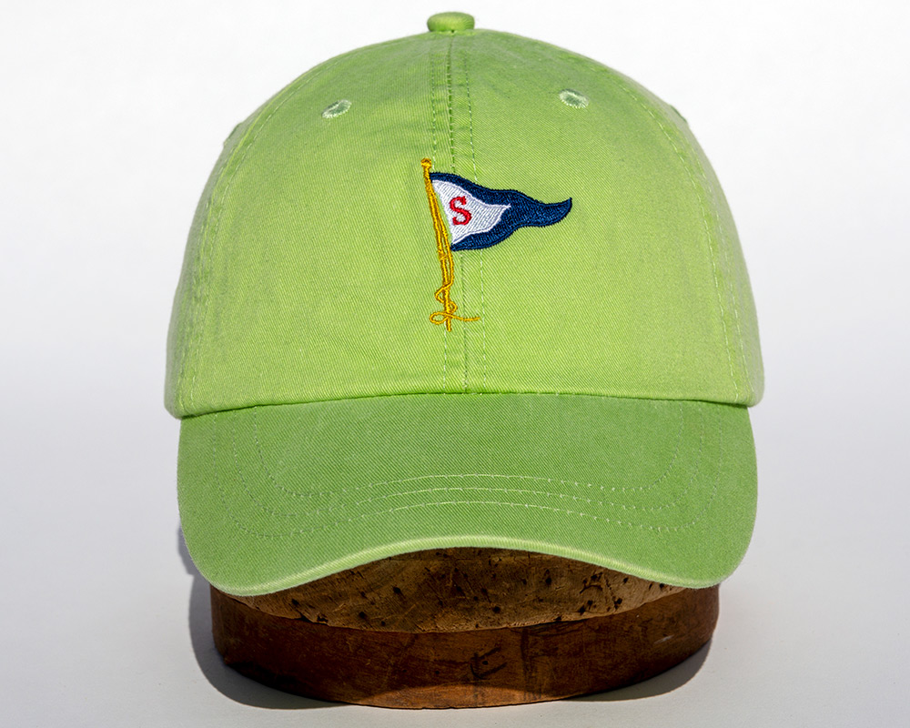 Lime green hat