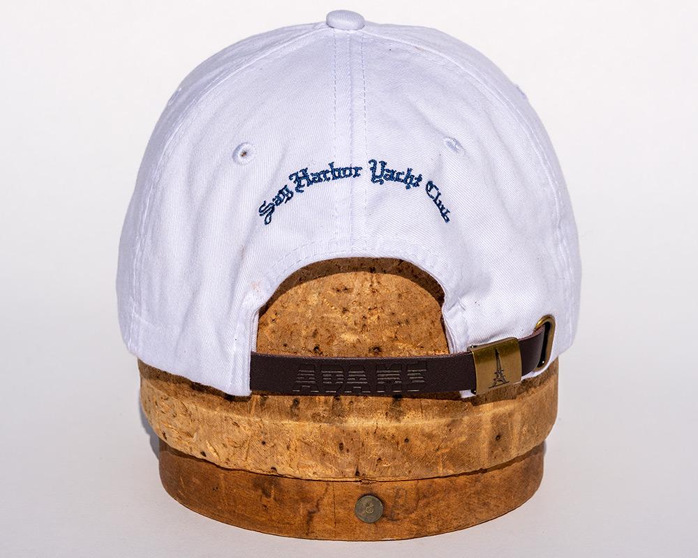 White hat back